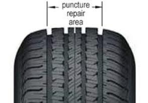 Tire Repairable