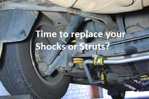 When To Replace Shocks And Struts >> Shocks Struts And Suspension Repairs